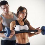 Работа персонального фитнес-тренера