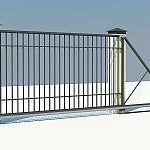 Особенности откатных ворот
