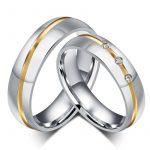 Выбор серебряных свадебных колец